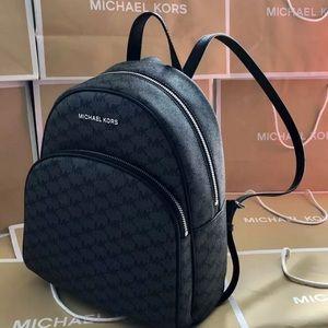 $298 Michael Kors Abbey MD Backpack Handbag MK Bag